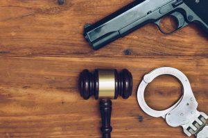gun, gavel and handcuffs - Springfield firearm attorney