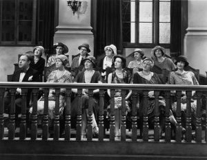 old fashioned jury photo
